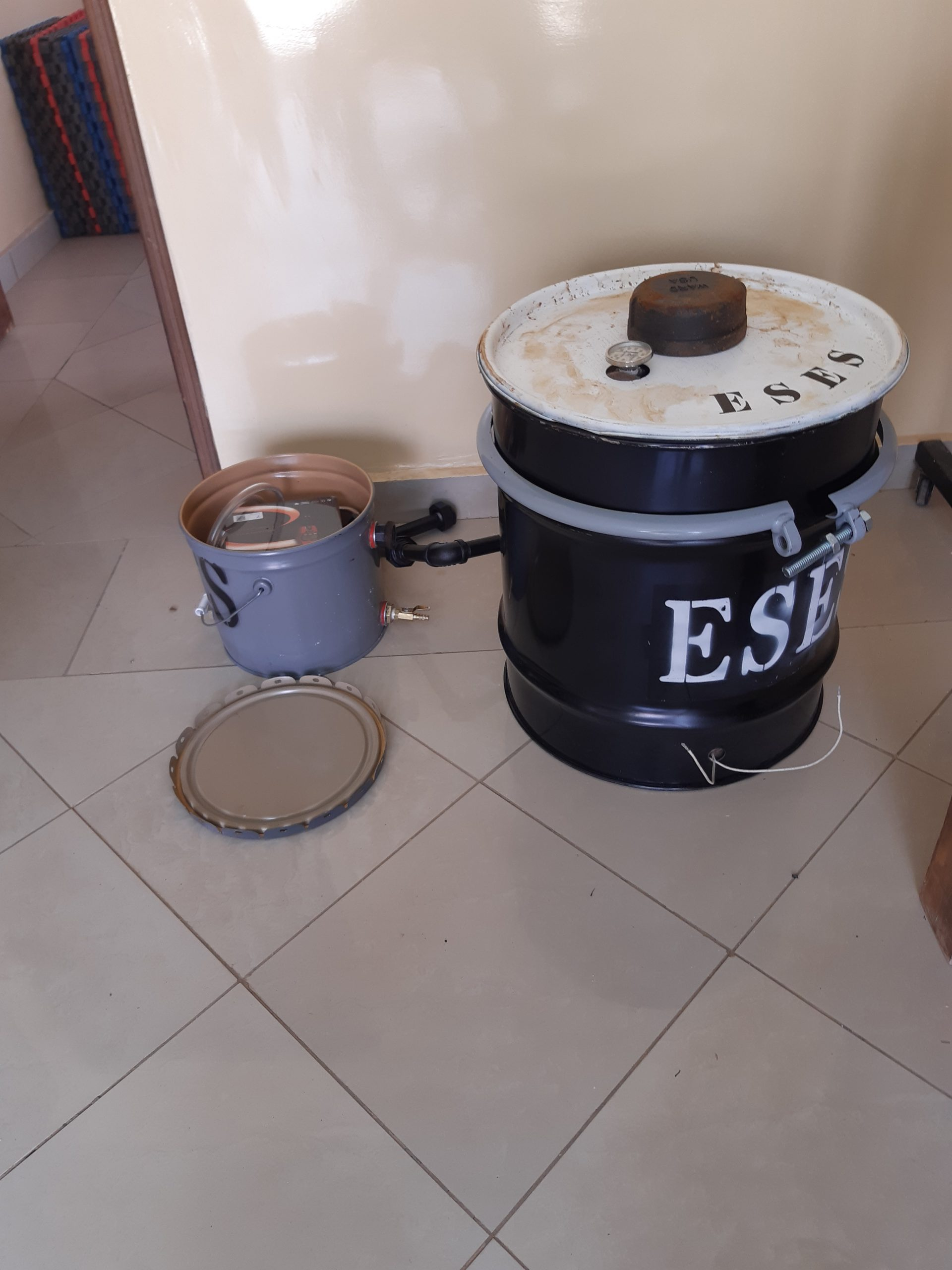 First ESES 3T Processor has Arrived at DAUST in Senegal